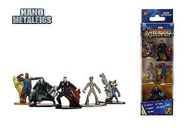 Nano Metalfigs Marvel Avengers Infinity War Wave 2 Kit