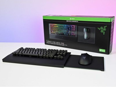 Razer Turret s/ Fio Teclado + Mouse - Xbox One / PC