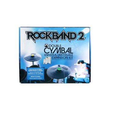 Rock Band 2 Double Cymbal Expansion Drum Pratos Bateria