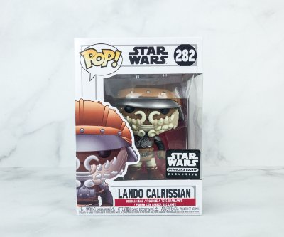 Funko Pop Star Wars 282 Lando Calrissian Exclusive