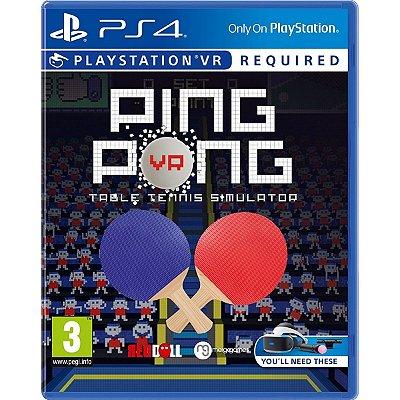 Ping Pong Table Tennis Simulator - PS4 VR