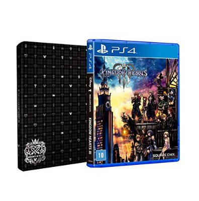 Kingdom Hearts lll Steelbook Edition - PS4