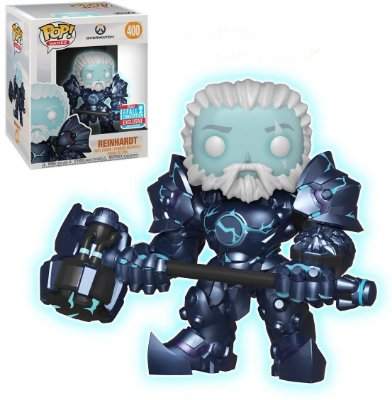 Funko Pop Overwatch 400 Reinhardt 6' Glow In The Dark