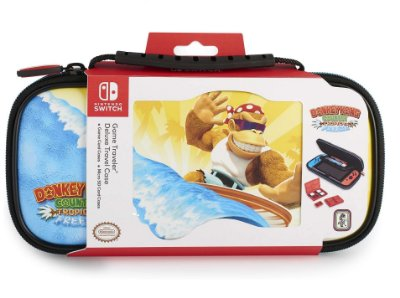Deluxe Game Travel Case Donkey Kong Surfer - Switch