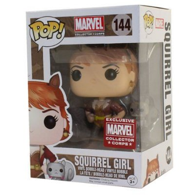 Funko Pop Marvel 144 Squirrel Girl Exclusive