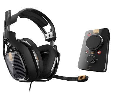 Headset Astro Gaming A40 TR + MixAmp Pro TR - PS4