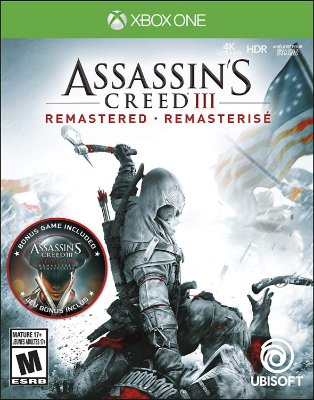 Assassins Creed 3 Remastered - Xbox One