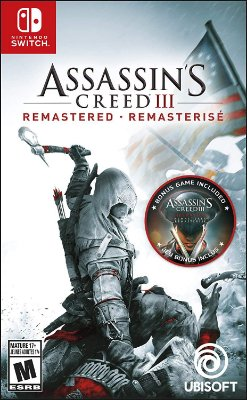 Assassins Creed 3 Remastered - Switch