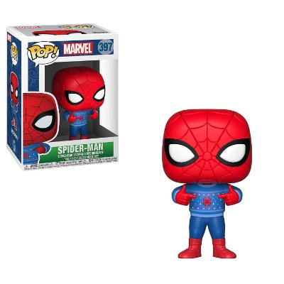 Funko Pop Marvel 397 Spider-Man Holiday with Ugly Sweater