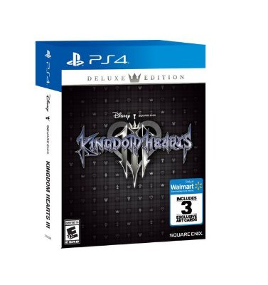 Kingdom Hearts 3 Deluxe Edition Exclusive 3 Art Cards - PS4