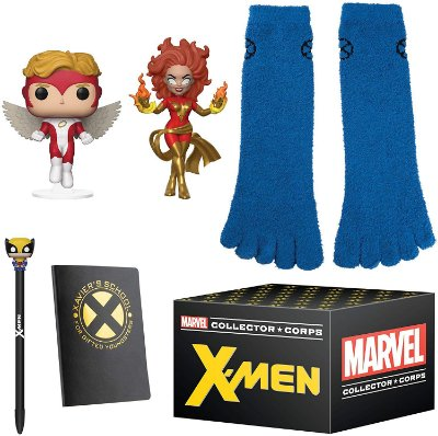 Funko Pop Marvel Collector Corps X-Men Mystery Box