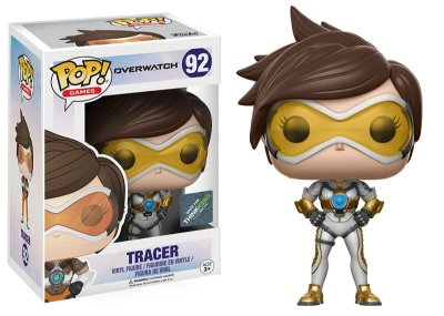Funko Pop Overwatch 92 Posh Tracer White Exclusive