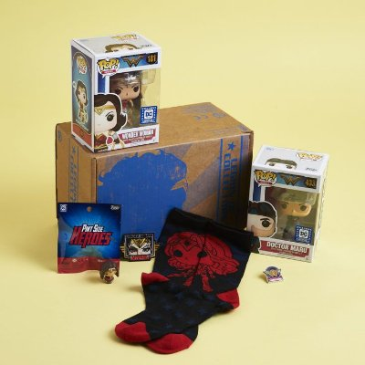 Funko Pop DC Box Legion Of Collectors Wonder Woman