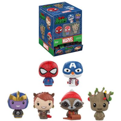Funko Mystery Mini Pint Size Marvel Holiday - 1 Boneco Misterioso
