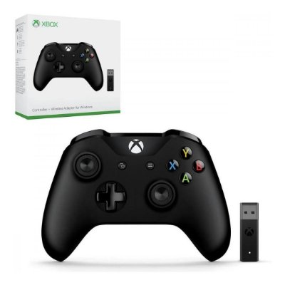Controle Xbox One Wireless + Adapter for Windows 10