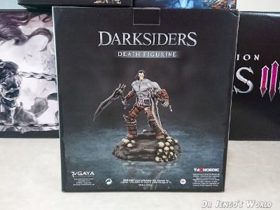 Darksiders III 3 Apocalypse Death Figurine Estátua