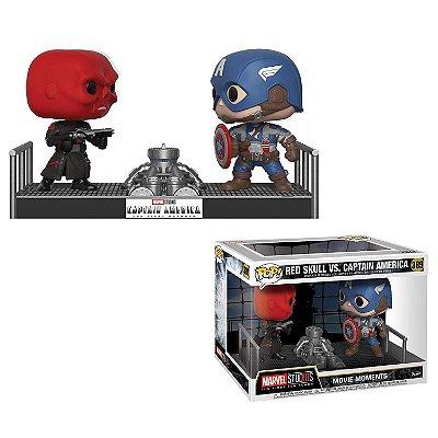 Funko Pop Marvel 389 Red Skull vs Captain America