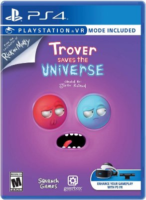 Trover Saves the Universe C/ VR Mode - PS4