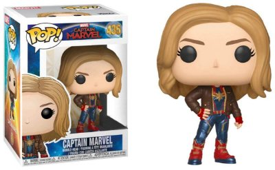 Funko Pop Captain Marvel 435 Captain Marvel Exclusive