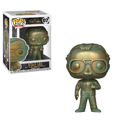 Funko Pop Stan Lee 07 Stan Lee Patina