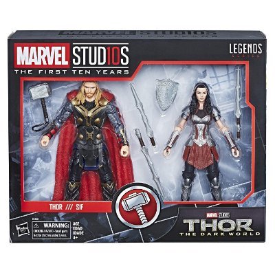 Marvel Studios Legends Thor The Dark World Thor and Sif