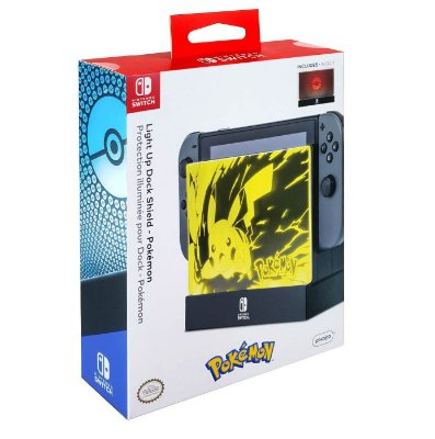 Nintendo Switch Light Up Dock Shield Pokemon PDP