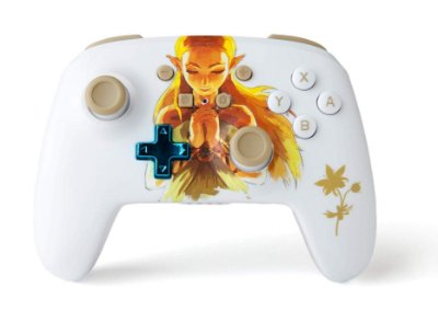 Controle PowerA Enhanced Wireless Princess Zelda - Switch