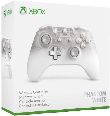 Controle Xbox Wireless Phantom White Special Edition - Xbox One / PC