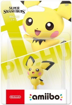 Amiibo Pichu Super Smash Bros. Series
