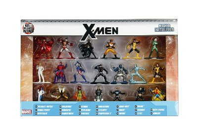 Nano Metalfigs Marvel X-Men Pack 20 Die-Cast Figures