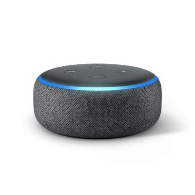 Amazon Echo Dot (3rd Gen) Smart Speaker C/ Alexa - Preto