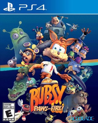 Bubsy Paws on Fire - PS4