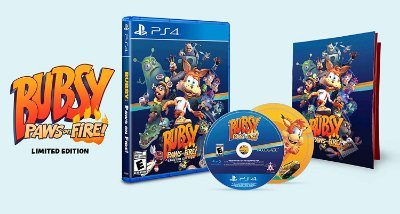 Bubsy Paws On Fire Limited Edition - PS4