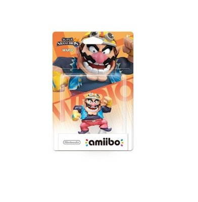 Amiibo Wario Super Smash Bros