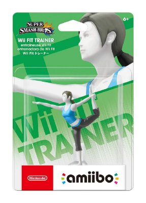 Amiibo Wii Fit Trainer Super Smash Bros