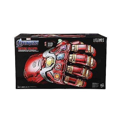 Marvel Avengers Endgame Punho Iron Man Eletrônico Articulado