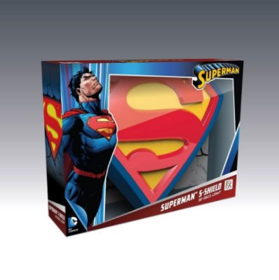 Luminária DC Comics Logo Superman 3D Light FX