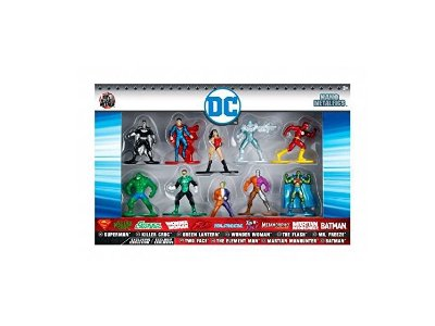 Nano Metalfigs Dc Comics 10-Pack Set 1