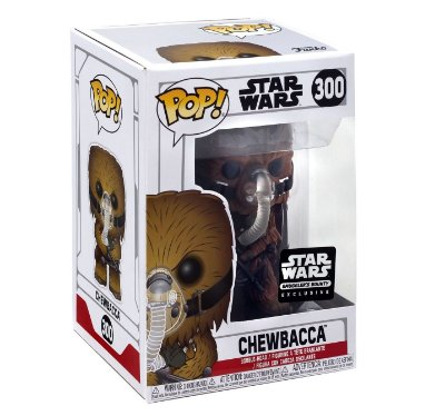 Funko Pop Star Wars 300 Chewbacca Exclusive