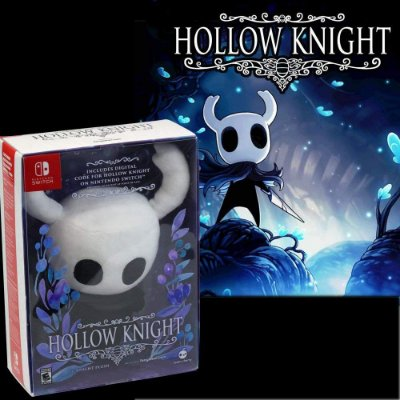 Hollow Knight C/ Knight Plush Pelúcia (Digital Code) - Switch