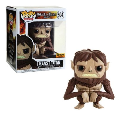 Funko Pop Attack on Titan 504 Beast Titan Exclusive 16cm