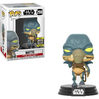 Funko Pop Star Wars 298 Watto Galactic Con Exclusive