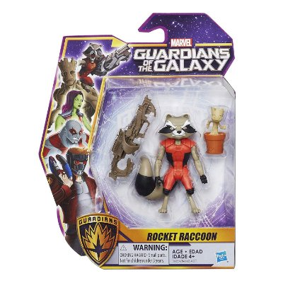 Marvel Guardians of the Galaxy Rocket Raccoon - Hasbro