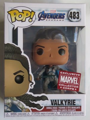 Funko Pop Marvel Endgame 483 Valkyrie Exclusive