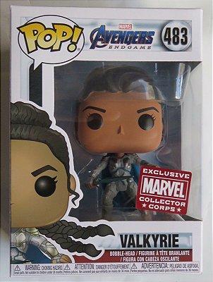 Funko Pop Marvel Endgame 483 Valkyrie Exclusive