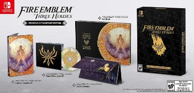 Fire Emblem Three Houses Seasons of Warfare Edition - Switch