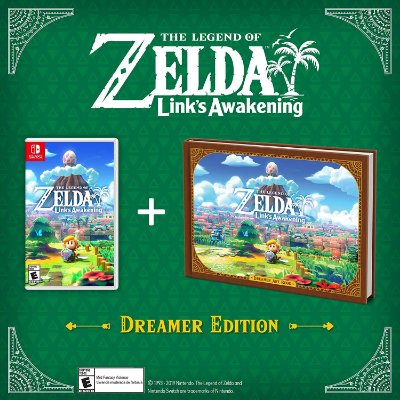 The Legend of Zelda Link's Awakening Dreamer Edition - Switch
