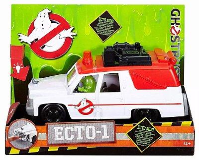 Veiculo Ghostbusters Ecto-1 Com Geleia Slimer Figure