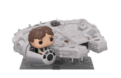 Funko Pop Star Wars Deluxe Millennium Falcon with Han Solo