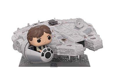 Funko Pop Star Wars Deluxe Millennium Falcon with Han Solo
